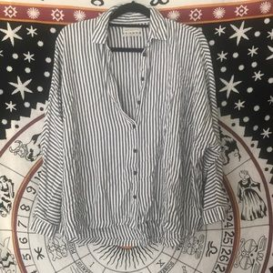 Striped Urban Outfitters Button Down